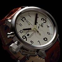 Часы U-Boat Flightdeck хронограф, копия мужские