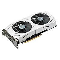 Видеокарта GeForce GTX1060 OC, Asus, 3Gb DDR5, 192-bit, DVI/2xHDMI/2xDP, 1809/8008 MHz (DUAL-GTX1060-O3G)