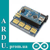 Плата расширения Arduino Nano I/O Shield [#K-9]