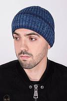 Мужская шапка с отворотом на флисовой подкладке с ShaDo №88