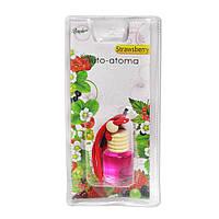 Автомобильный ароматизатор в бутылочке 8мл лесная ягода