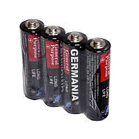 Батарейки АА Germania 4шт./уп. R6  (пальчиковые)