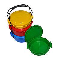 Дорожная посуда пластиковая Comfort (из 4 предметов)