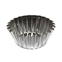Формочки для выпечки тарталеток и кексов (набор 6 шт.) металл