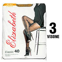 Колготы Elizabeth 40 den classic Visone (бежевые) 3