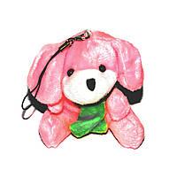 Брелок-подвеска на телефон Собачка мягкая игрушка