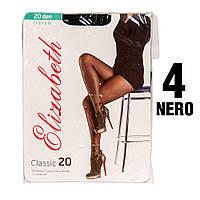 Колготы Elizabeth 20 den classic Nero (черные) 4