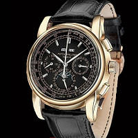 Часы Patek Philippe Perpetual Calendar Black, механические мужские