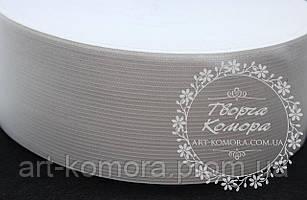Резинка для юбочек белая, 6 см