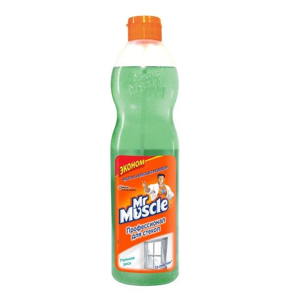 Mr Muscle Средство для стекол с нашатырным спиртом 500 мл