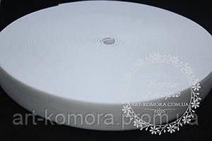 Резинка для юбочек белая, 2 см