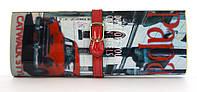 Стильный женский клатч под журнал PAPARAZZI art. красная