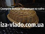 Хлібниці плетені з лози