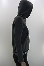 жіночий  світшот на флісі з капюшоном Versace, фото 3