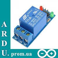 Модуль реле на 1 канал, 5V для Arduino [#L-8], фото 1