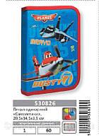 """Пенал 1 Вересня №530826 """"Самолетики""""  Артикул: 138498   Цена розн: 102.00 грн. Цена опт: 81.00 грн."""