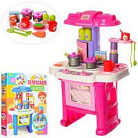 Детская интерактивная кухня с посудой 16641G