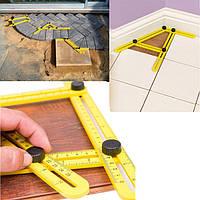 Шаблометр, лінійка шаблон для укладки плитки, кахелю, паркету, тощо. Шаблонометр.