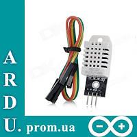 Датчик температуры и влажности DHT22 Arduino [#1-4]