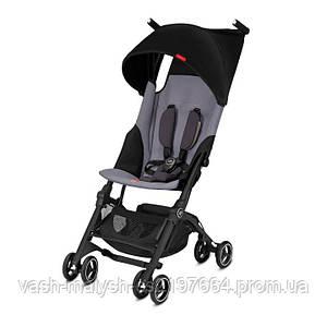 Прогулочная коляска GB Pockit Plus 2018 Silver fox grey
