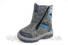 Детская зимняя обувь 2017. Детская зимняя обувь бренда Holaso для мальчиков (рр. с 23 по 30)
