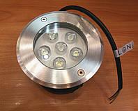 Грунтовой тротуарный светодиодный светильник Feron SP4112 6W 6400K