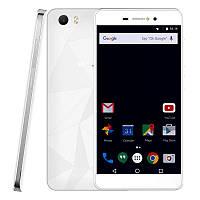 "Смартфон Bluboo Picasso White 2sim, экран 5"" IPS, 2/16Gb, 8/8Мп, 4 ядра, 3G, GPS, 2500mAh"