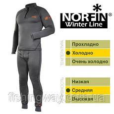 Термобелье Norfin Winter  Line Gray M