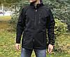 Куртка мембранная Max-SV Softshell (черная)