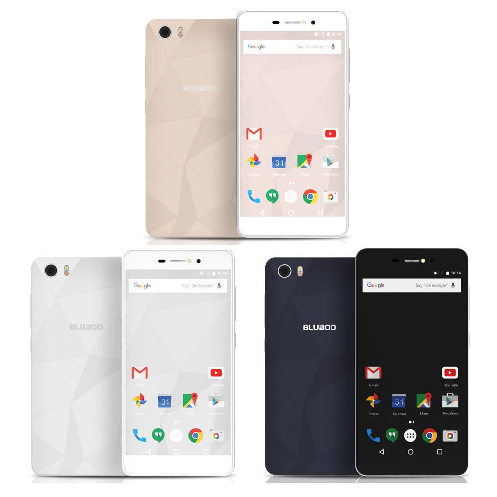 "Смартфон Bluboo Picasso 2/16Gb, 2sim, экран 5"" IPS, 8/8Мп, 4 ядра, 3G, GPS, 2500mAh"