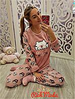 """Женский домашний костюм-пижама """"Котик"""", 2 цвета"""