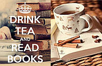 Обложка обкладинка на паспорт Книги книжки Drink tea and read Books України
