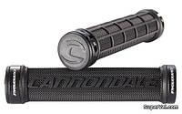 Грипсы Cannondale DC Dual Lock-On, черные с черными замками