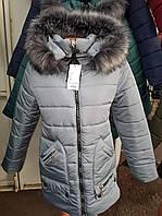Зимняя стильная женская куртка