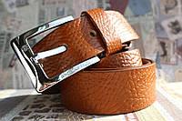 Джинсовый кожаный ремень Massimo Dutti
