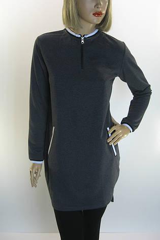 Трикотажна сукня, фото 2