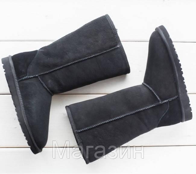 Женские угги UGG Australia Classic Tall Black, высокие Угги УГГ Австралия черные - Магазин обуви New York в Киеве