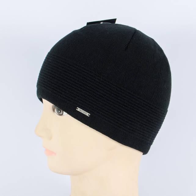 Мужская вязанная шапка Diligo, Черный