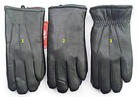 Мужские кожаные перчатки с утеплителем