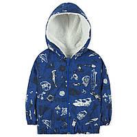 Куртка-ветровка утепленная на флисе для мальчика Baby Rose