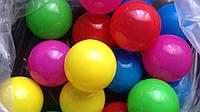 Шарики цветные пластиковые 8см для сухих бассейнов, игровых комнат, игровых центров 100шт/упаковка