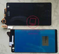 Дисплей модуль Sony Xperia C4 / C4 Dual E5333 в зборі з тачскріном, чорний