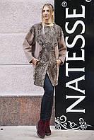 Пальто из каракульчи с отделкой из кашемира swakara broadtail jacket coat, фото 1