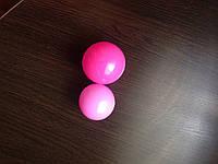 Шарики цветные пластиковые 8см для сухих бассейнов, игровых комнат, игровых центров 100шт/упаковка Розовый