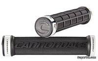 Грипсы Cannondale DC Dual Lock-On, черные с белыми замками