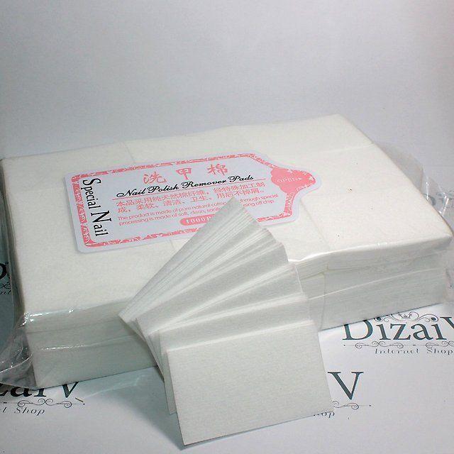 Салфетки безворсовые для маникюра, одноразовая продукция