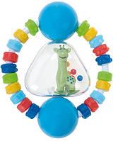 Погремушка-зубогрызка Жирафка (голубой), Canpol babies