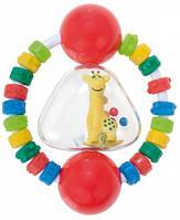 Погремушка-зубогрызка Жирафка (красный), Canpol babies