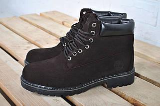 Размер 44 (29см) Ботинки мужские зимние В стиле Timberland / ботинки Тимберленд / Brown, фото 3