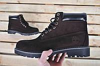 Размер 44 (29см)Ботинки мужские зимние В стиле Timberland / ботинки Тимберленд / Brown